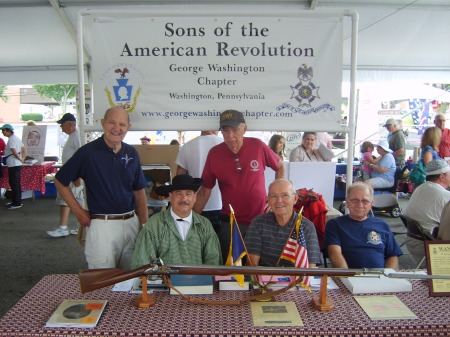 2014 Whiskey Rebellion Fesitval - George Washington Chapter SAR