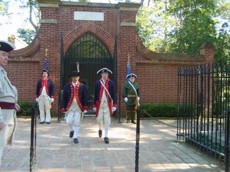 Mount Vernon SAR Color Guard Vigil